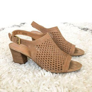 Franco Sarto Platform Ankle Strap Heels